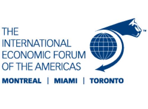 Le Forum économique international des Amériques